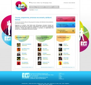Nouvelle page d'accueil du site Info-Groupe
