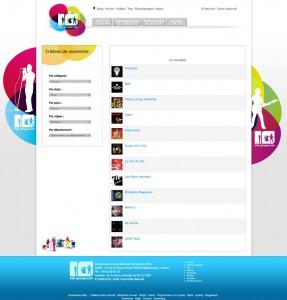 Nouvelle page de recherche du site Info-Groupe