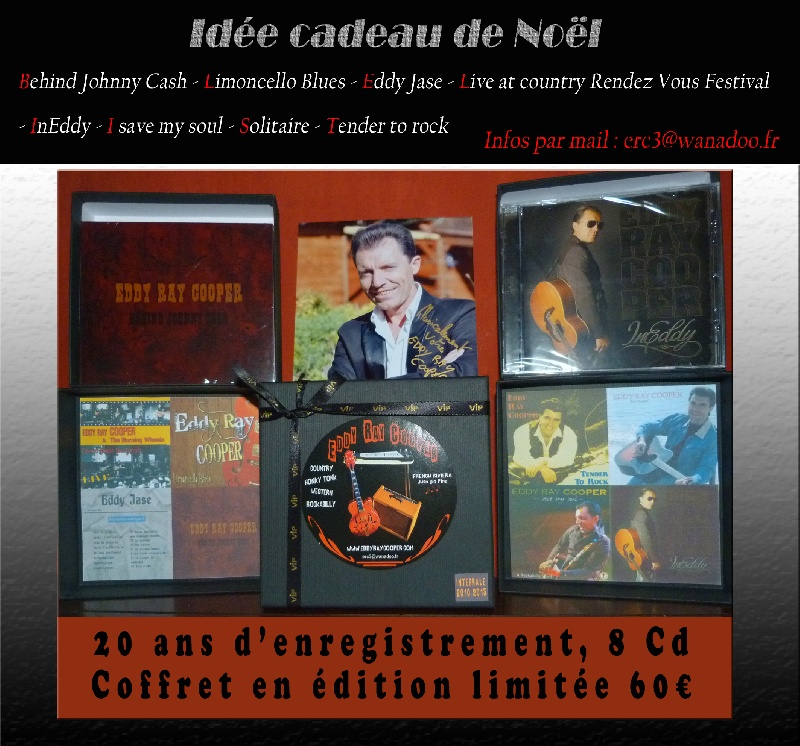 Coffret de 8 CD  - Eddy Ray Cooper