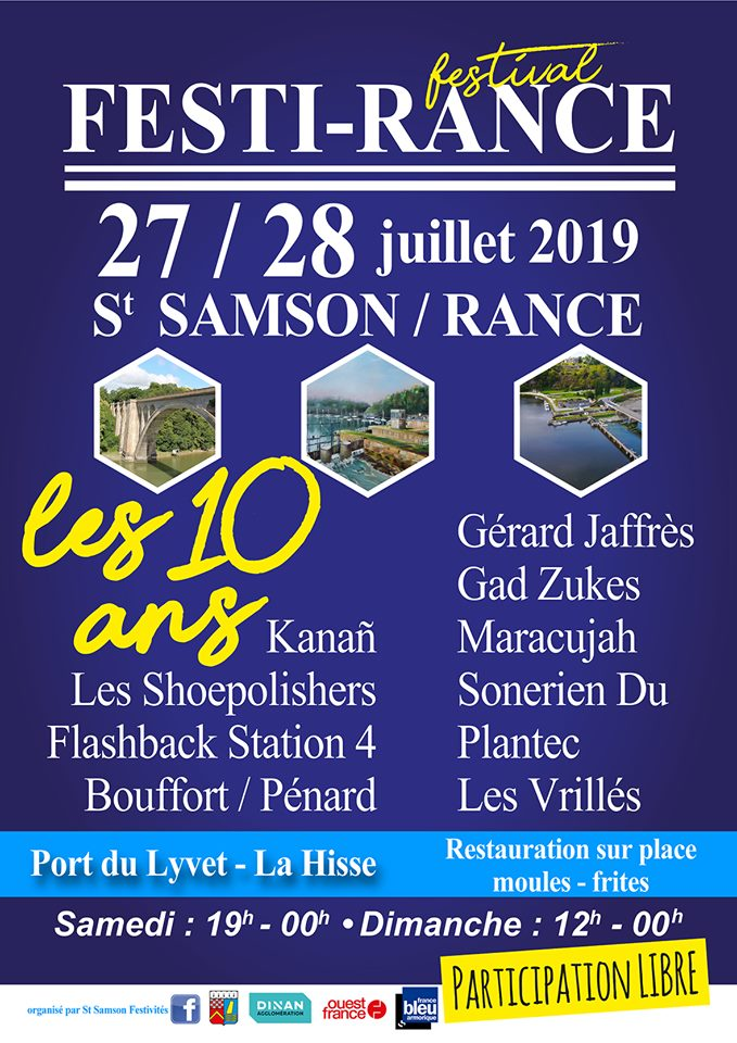 Affiche Festi-Rance 2019 - Flashback Station 4