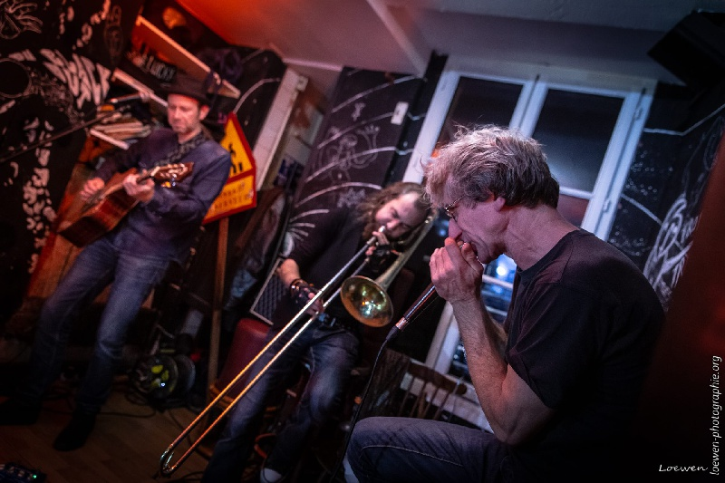 Gazoline, Rennes en trio avec le Little Big Band (by Loewen Photo) - Gilles de Suez