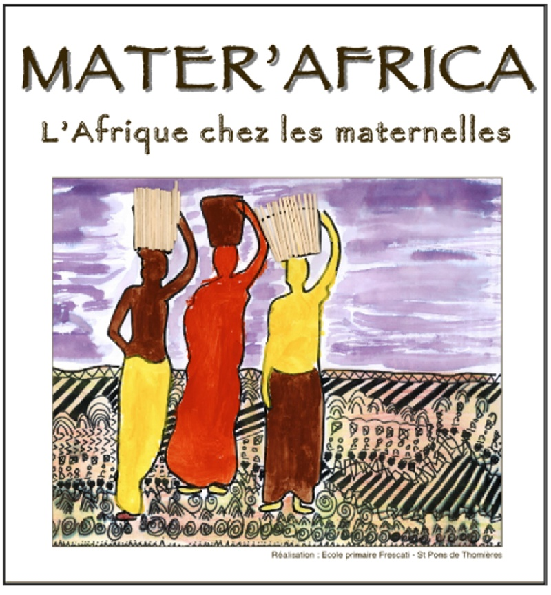 CD Mater'Africa pour les maternelles - Mater'Africa