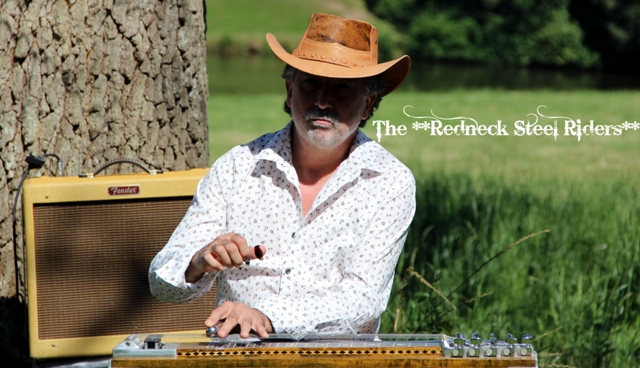 J-Mi Pedalsteel guitar player - Redneck Steel Riders