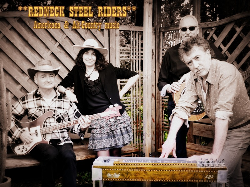 Marcel, Nath, J-Luk & J-Mi ... The **Redneck Steel Riders** - Redneck Steel Riders
