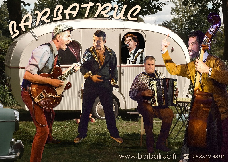 Barbatruc : Groupe Swing Chanson Rock'n'Roll Languedoc-Roussillon - Aude (11)