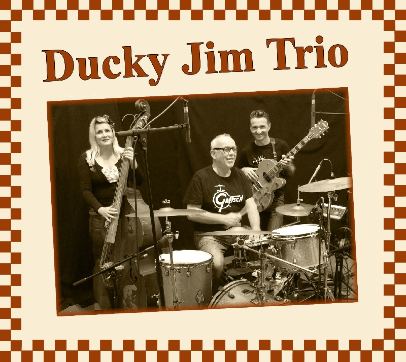 Ducky Jim Trio : Groupe Rock Rockabilly Rock 'n' roll 50's Bretagne - Finist�re (29)