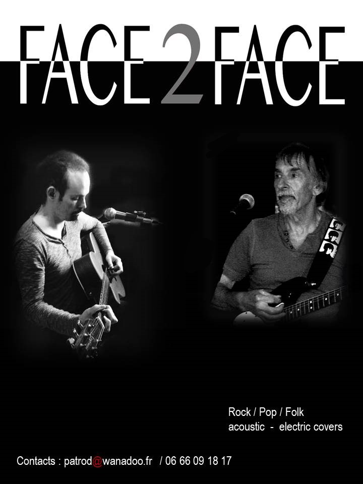 Face2Face : Duo Pop-rock Folk Bretagne - Côtes-d'Armor (22)