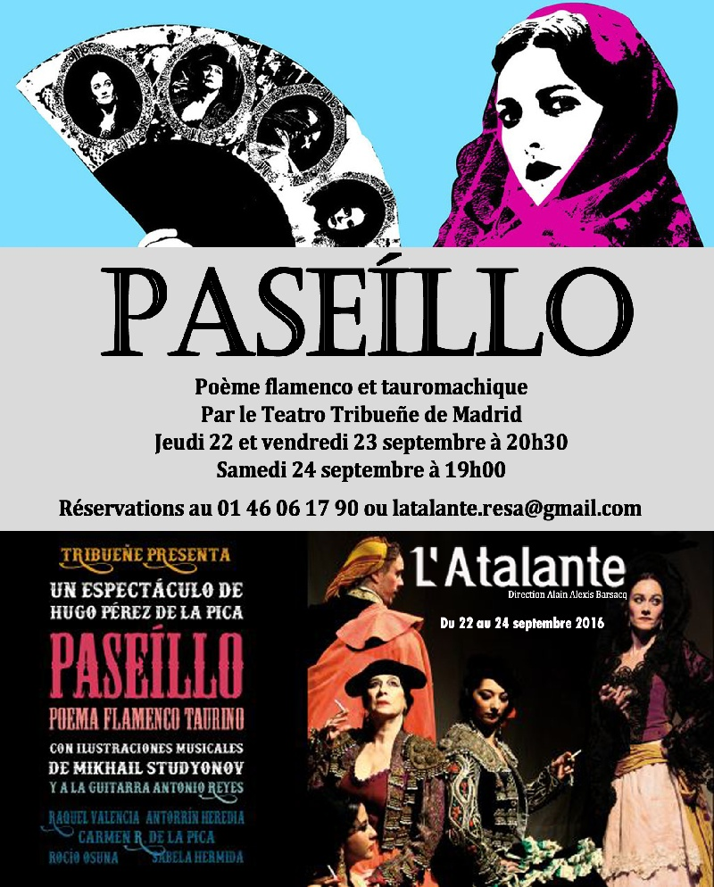 Paseillo : Spectacle De flamenco Ile-de-France - Paris (75)