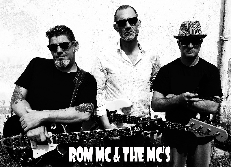 Rom MC & the MC'S : Trio Rock'n'roll Blues Rhythm'n'blues Surf instrumental Bretagne - Finistère (29)