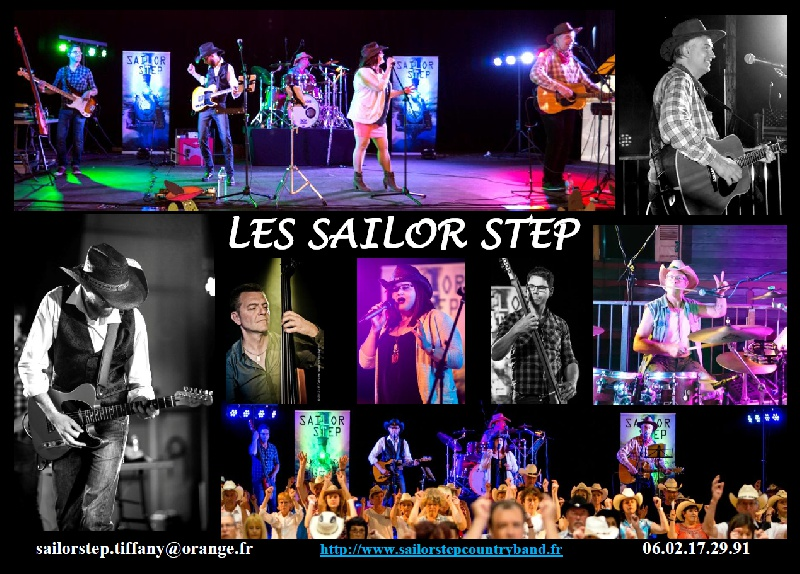 Sailor Step : Groupe Country Folk Rock'n'roll Midi-Pyrénées - Tarn (81)