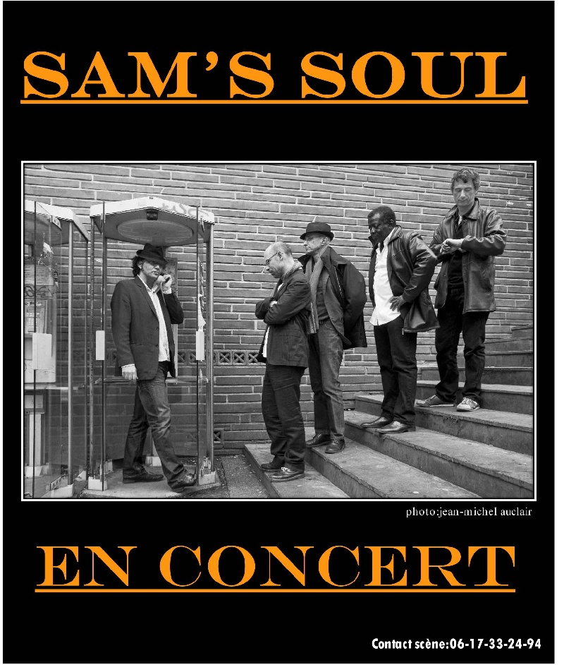 Sam's Soul : Photo 2 | Info-Groupe
