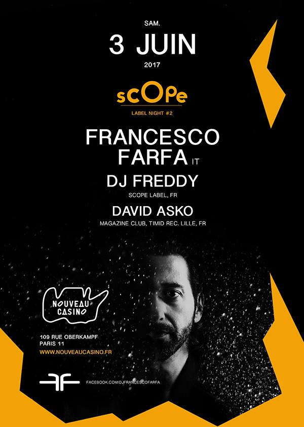Scope Label Night : Club Scope Label Night # 2  Ile-de-France - Paris (75)