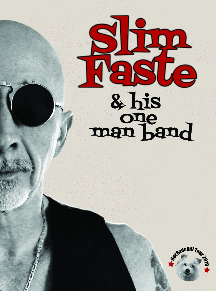 Slim Faste & his one man band