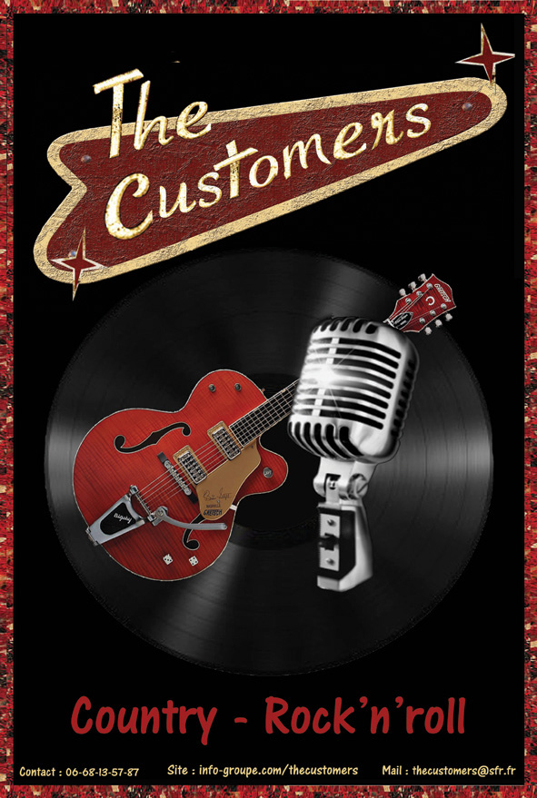 The Customers : Groupe Country Rock'n'Roll Rockabilly Bretagne - Finistère (29)