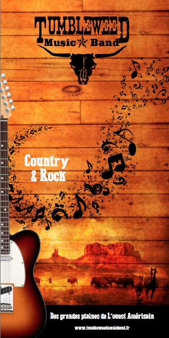 Tumbleweed Music Band : Groupe Country Rock'n'Roll Ile-de-France - Yvelines (78)