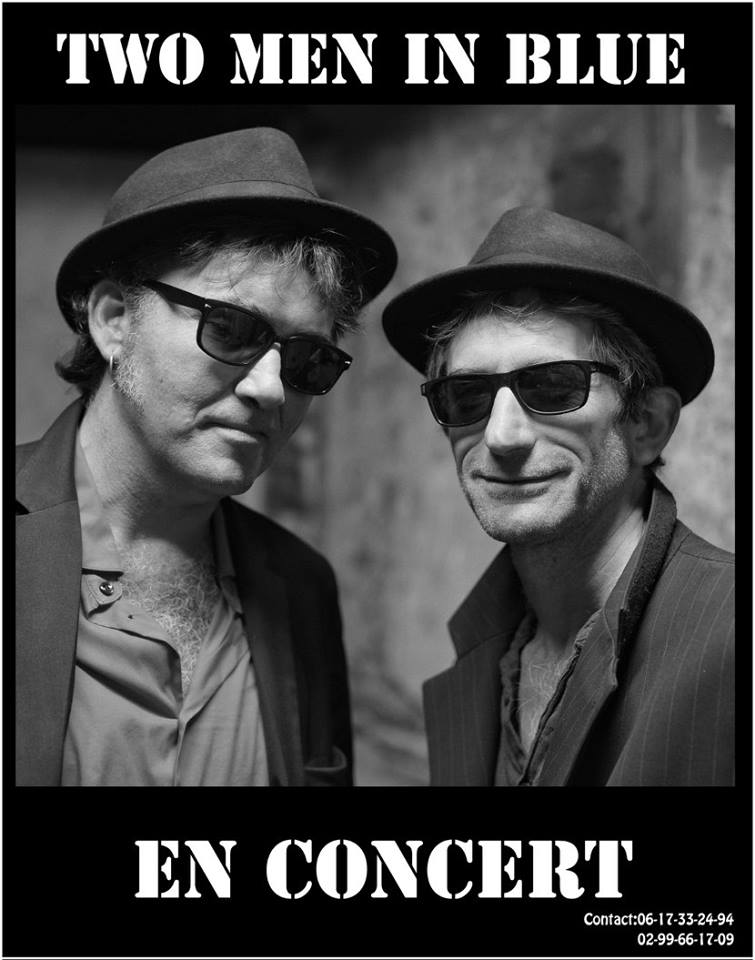 Two Men in Blue : Groupe Blues Jazz Bretagne - Ille-et-vilaine (35)