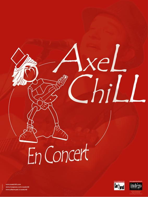 Photo concert La Reine Blanche  Paris  Axel Chill