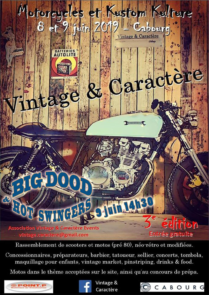 Photo concert Village Vintage & Caractère Cabourg Big Dood & Hot Swingers