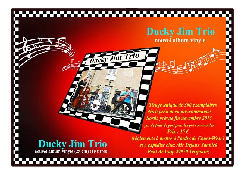 Photo concert L'escadrille L'Ile d'Yeu Ducky Jim Trio