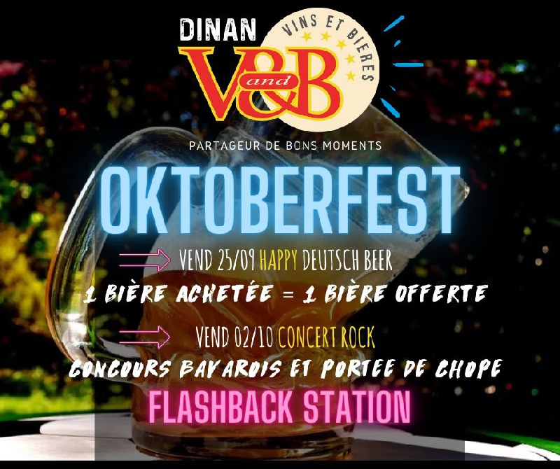 Photo concert Soirée Oktoberfest V&B Dinan Dinan Flashback Station 4
