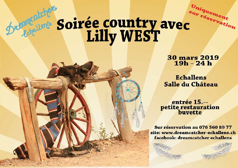 Photo concert Concert de Lilly WEST en Suisse Echallens Lilly West