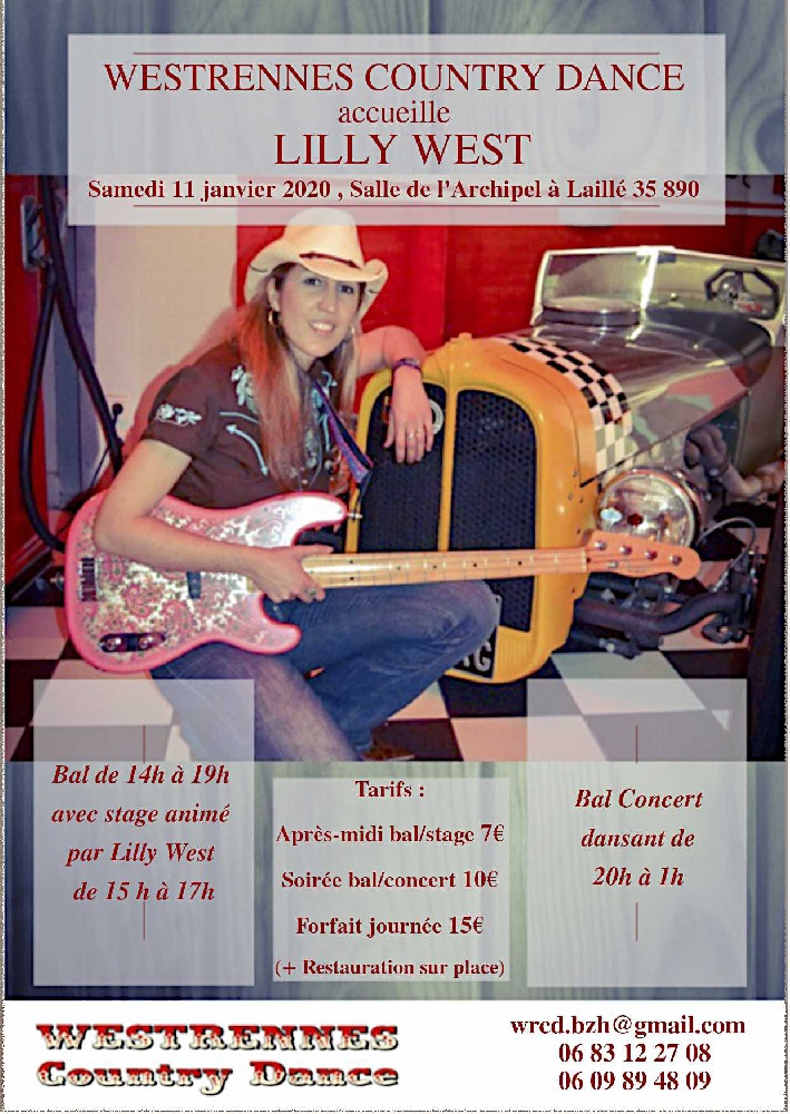 Photo concert Concert de Lilly West en Bretagne Laillé Lilly West