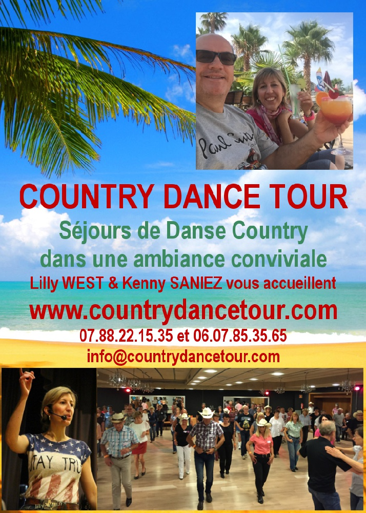 Photo concert Séjour Country Dance Tour avec Lilly West Maurs Lilly West