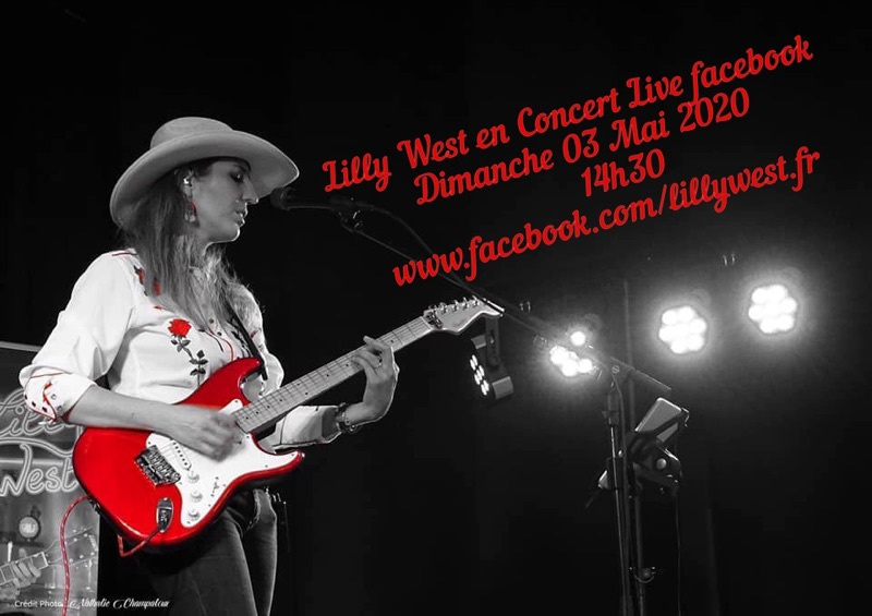 Photo concert Concert en Direct Facebook Jullianges Lilly West