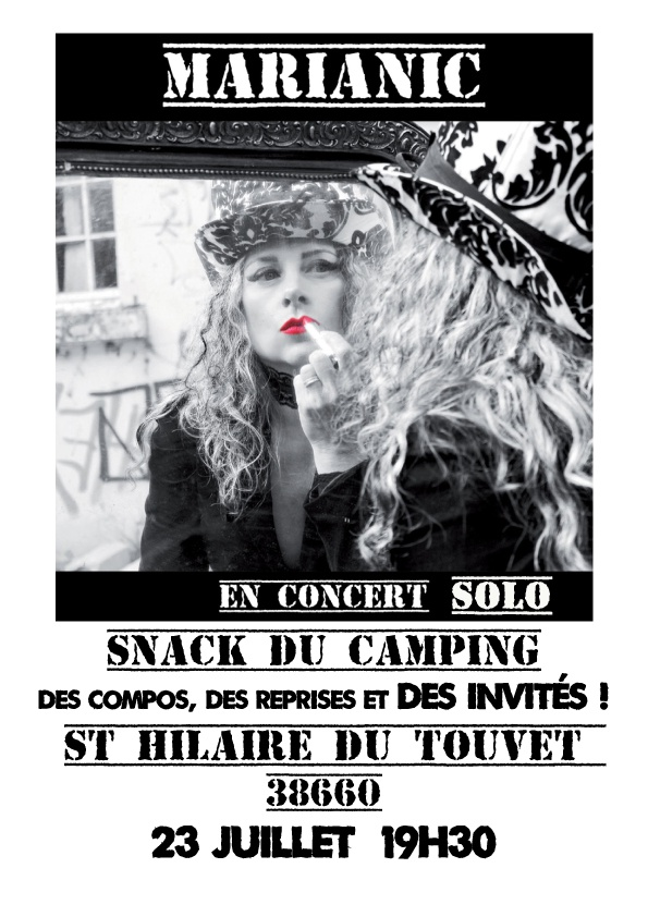 Photo concert Fiesta Rock-pop au camping ! Saint-Hilaire Mary Music Machines