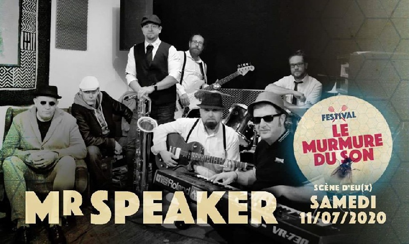 Photo concert Festival Le Murmure du Son Eu Mr Speaker