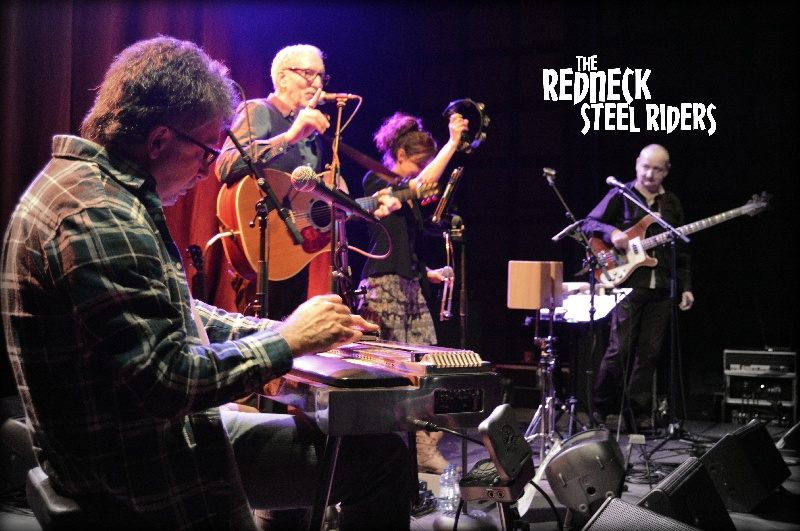 Photo concert Bistrot du Cheval Blanc Couí«ron Redneck Steel Riders